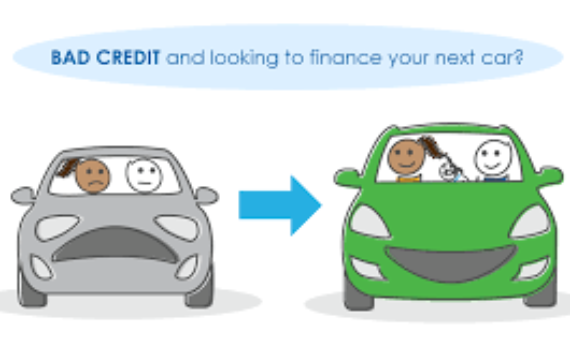 get a used car on bad credit